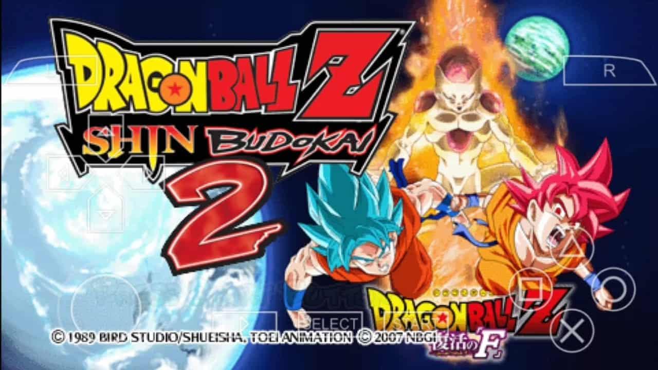 PSP Dragon Ball Z Shin Budokai 2 SaveGame 100% - Save File