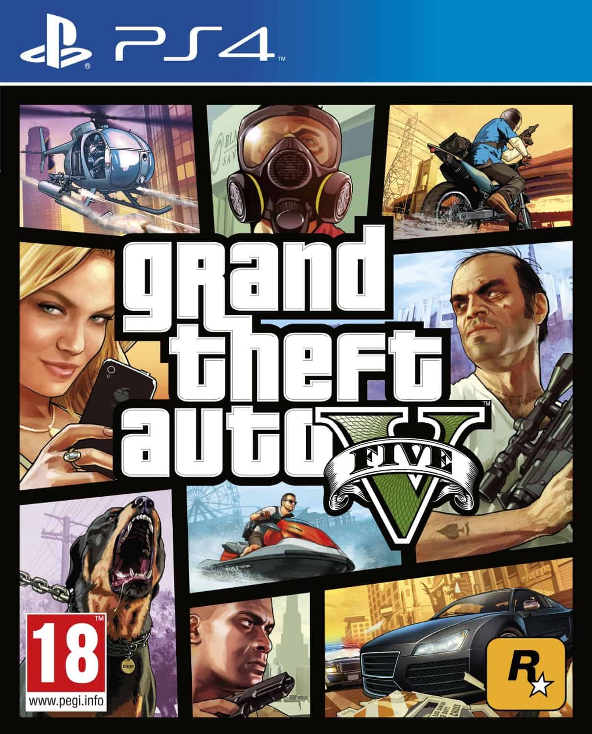 gta 5 race download ps4