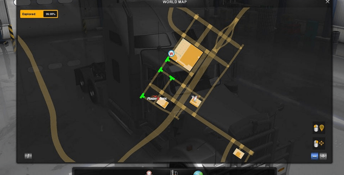 PC American Truck Simulator Save Game 100% | ATS Save File 100%