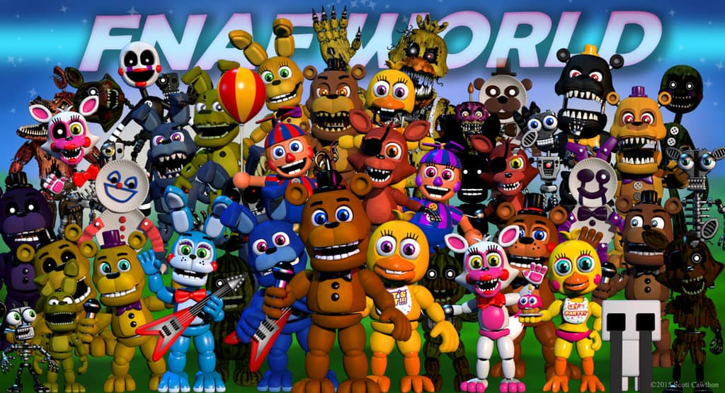 PC FNAF World SaveGame - Save File Download