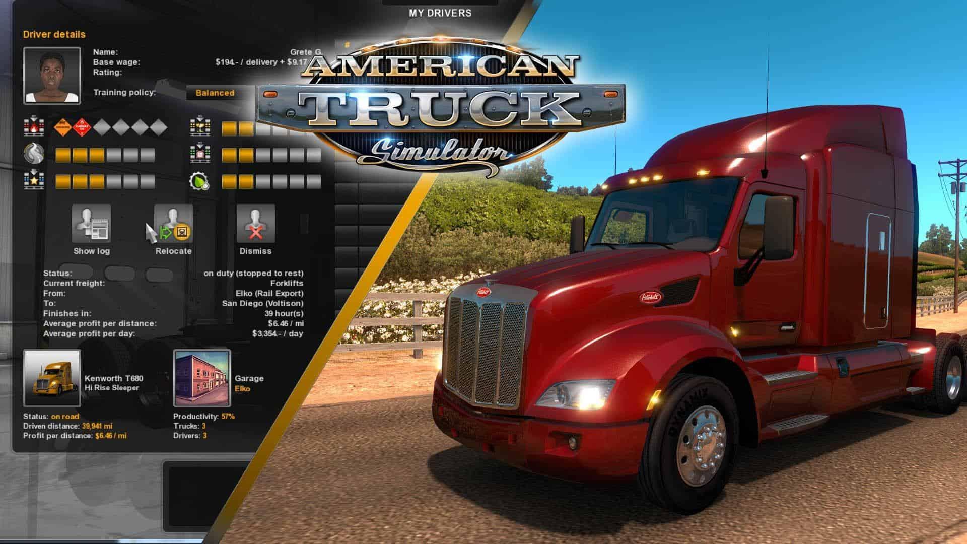PC American Truck Simulator SaveGame - Save File Download