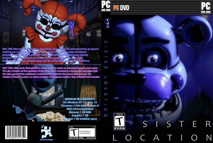 PC Five Nights At Freddys SaveGame