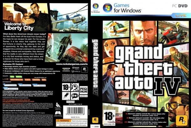grand theft auto 4 pc game