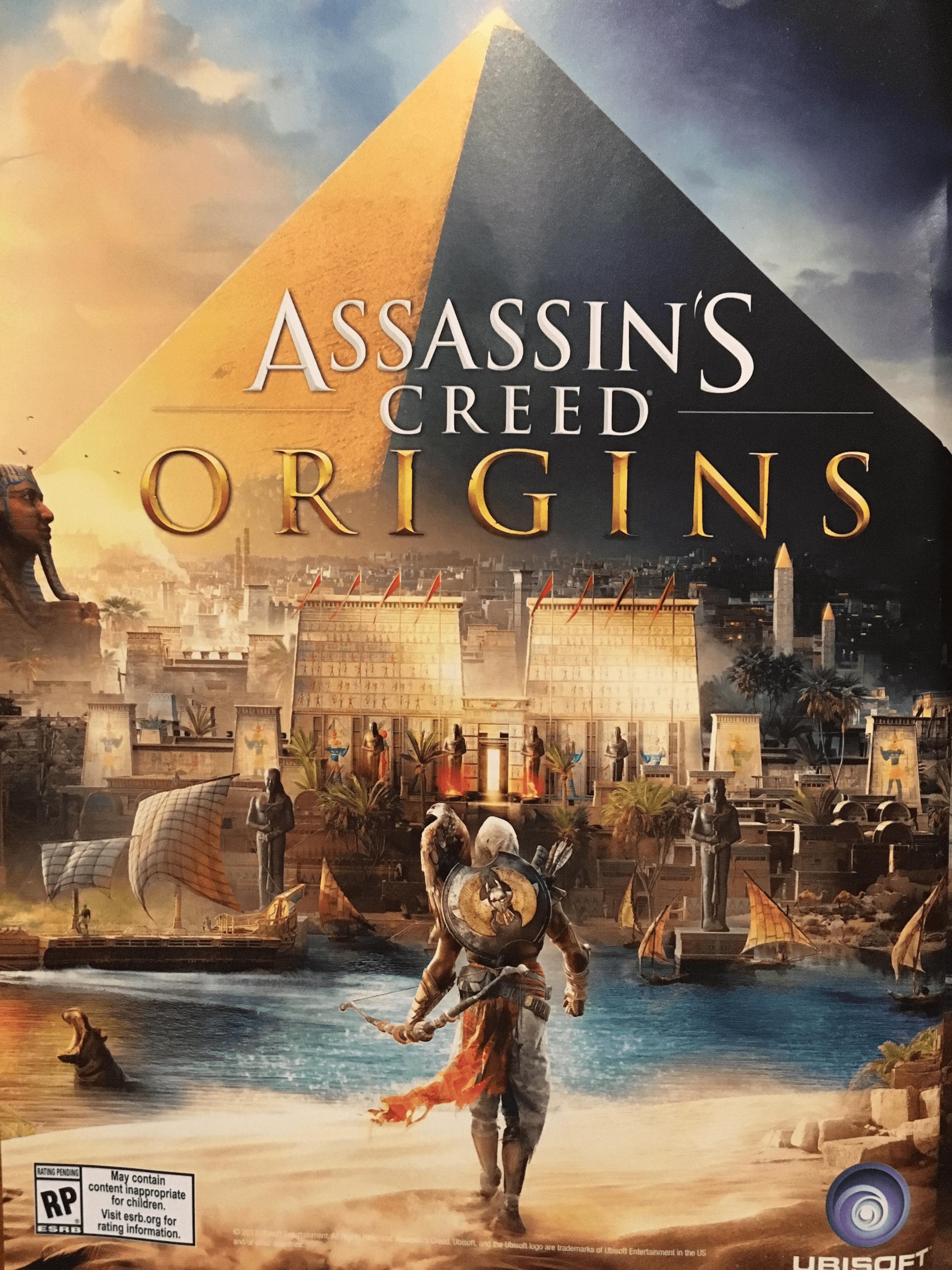 Assassin's Creed Origins crack Fix [Only] No-DVD (Codex