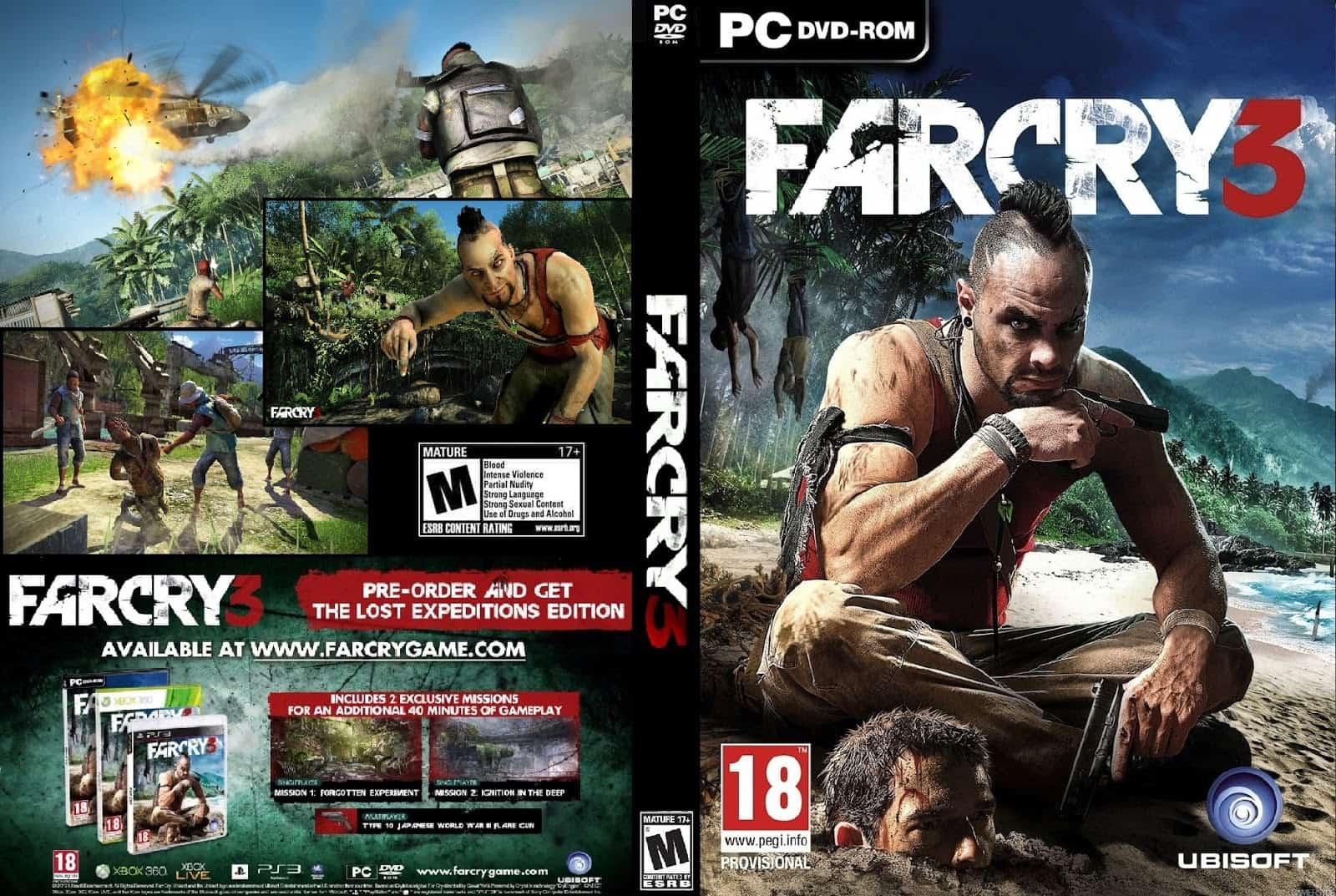 PC Far Cry 3 SaveGame (97%) - Save File Download