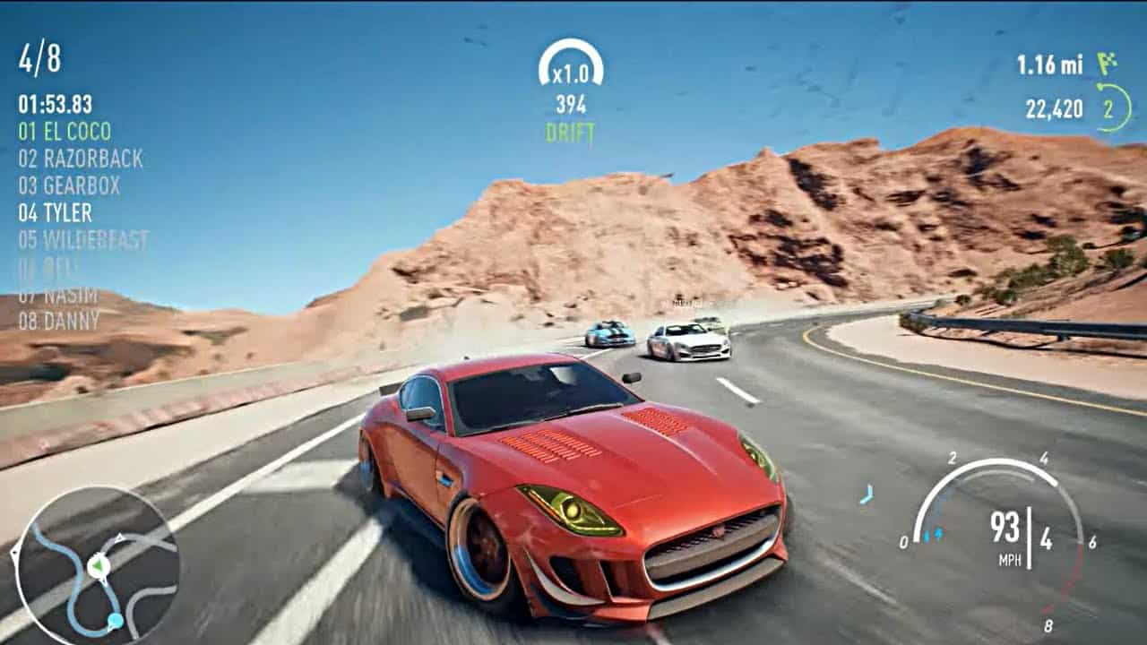 need for speed payback ocean of games
