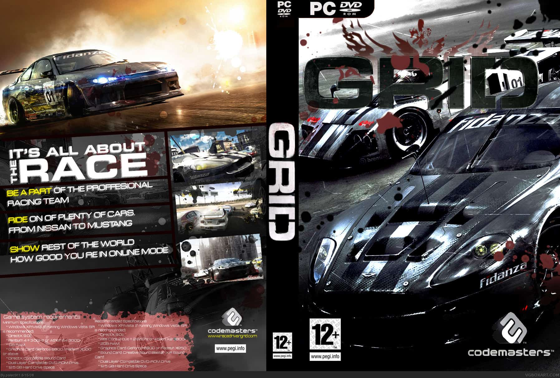 pc race driver grid savegame game save download file
