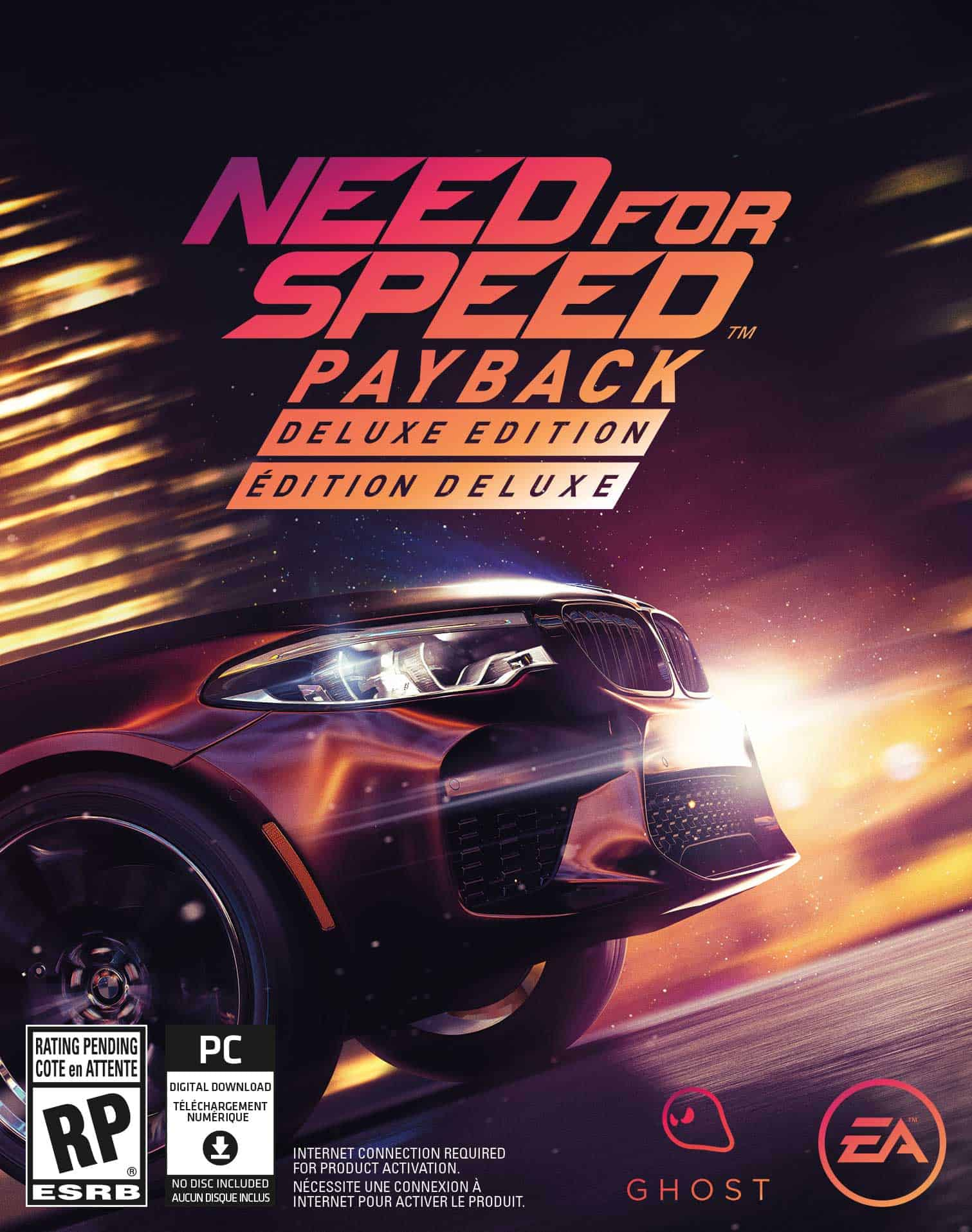 PC Need for Speed: Payback SaveGame 100% - Game Save Download file