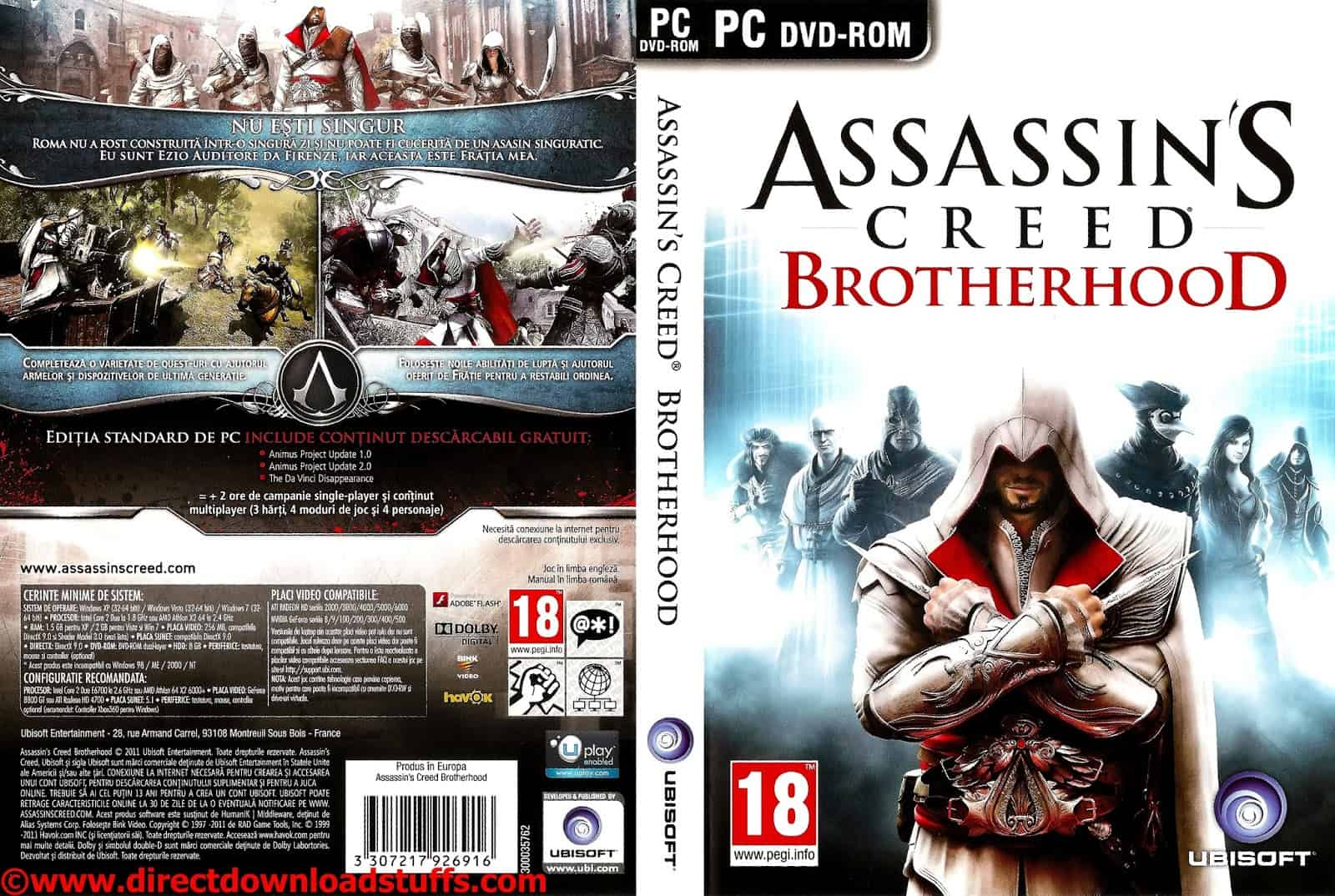 Pc Assassins Creed Brotherhood Savegame 100 Save File Download