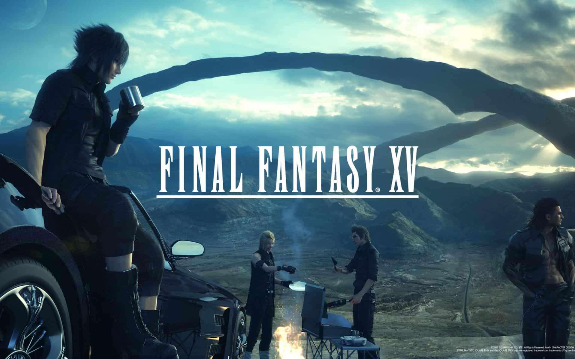 PC Final Fantasy XV SaveGame 100% - Game Save Download file