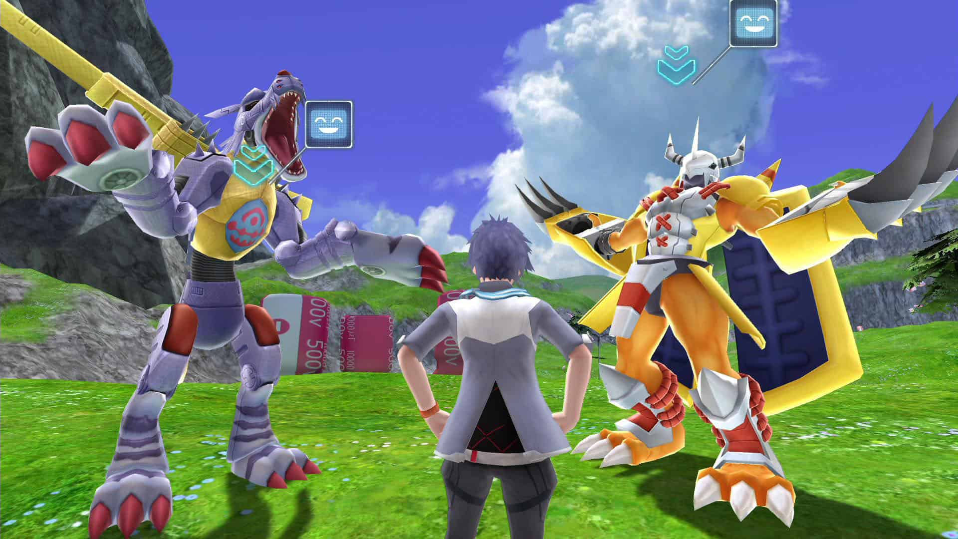 PS4 Digimon Next Order some trophies SaveGme - Save File