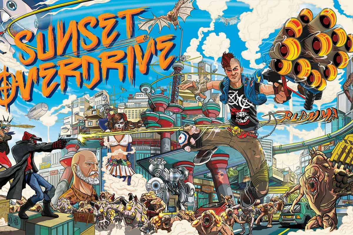 How to download sunset overdrive