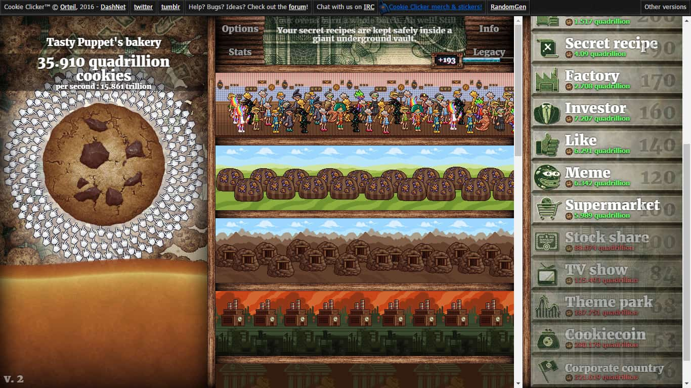 PC Cookie Clicker Save File | Cookie Clicker Save Game Download